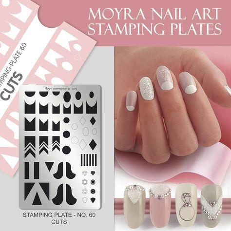 nailart NEW FROM MOYRA! Stamping plate...