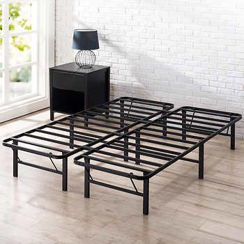 Blackstone Heavy Duty Twin Smartbase Modern Rustic Bedrooms