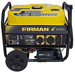 Firman P03608 4550 3650 Watt Gas Remote Start Generator Carb Yellow Price February 2021 Gas Powered Generator Portable Generator Propane Generator