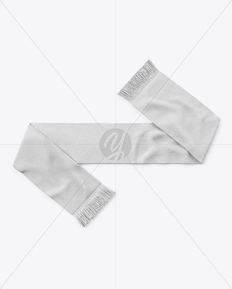 Download Fan Scarf Mockup Top View Clothes Clothing Exclusivemockup Fan Football Fringe Knitting Mockup Mockup Scar Clothing Mockup Your Design Soccer Scarf
