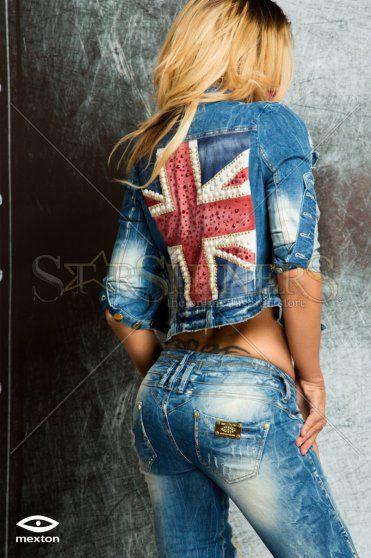 Jacheta Mexton British Joy Blue