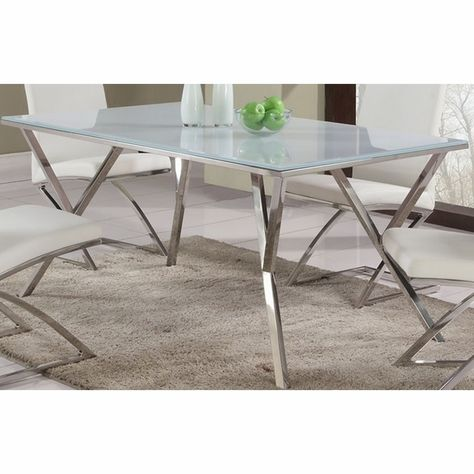Chintaly Jade Starphire Gl Dining Table Dt 61x35 400