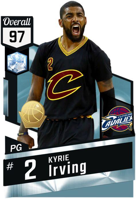 8d9c4ef6d Kyrie Irving (97) MyTEAM Diamond Card