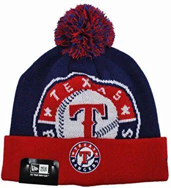New Era Texas Rangers Beanie Royal Blue Red In 2021 Texas Rangers Texas Rangers Cap Ranger