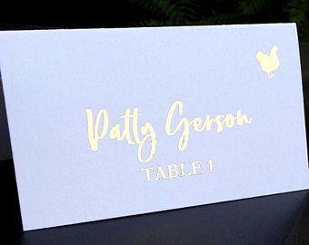 Wedding Accessories Custom Foiled Prints By Forweddingsake