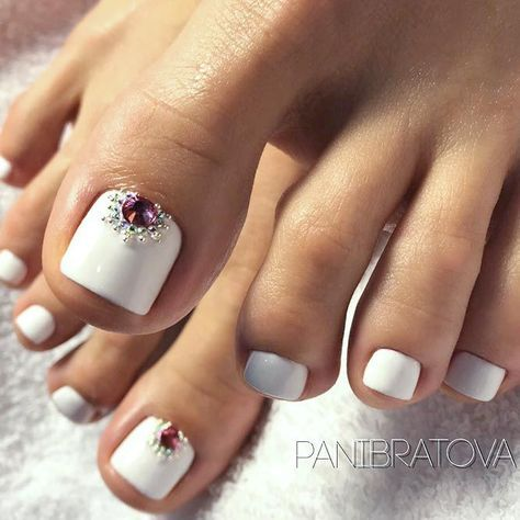 Best Toe Nail Art Ideas For Every Season Diseños De Uñas