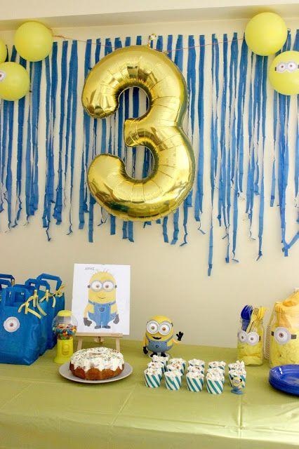 14 best Waylons Birthday Ideas images on Pinterest Minion