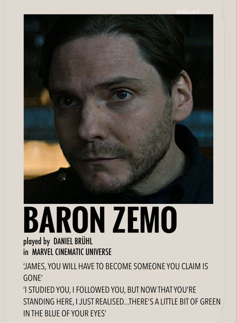 Baron Zemo by Millie