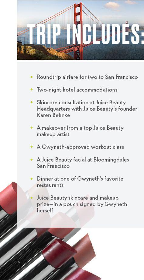 Elle Juice Beauty Sweepstakes | Juice beauty, Beauty ...