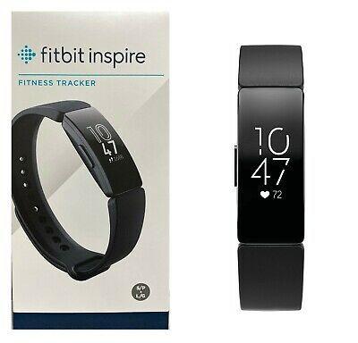 Ad Ebay Link Fitbit Inspire Hr Fitness Tracker And Heart Rate Black Fb413bkbk In 2020 Fitness Tracker Fitbit Ebay