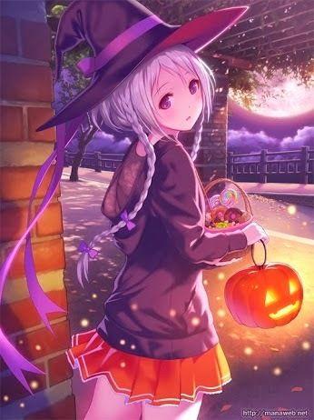 Imagen de anime, Halloween, and girl … | Pinteres…