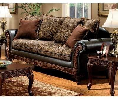 Astoria Grand Lusby Sofa Astoria Grand Faux Leather Sofa Living Room Decor Traditional Upholstered Sofa