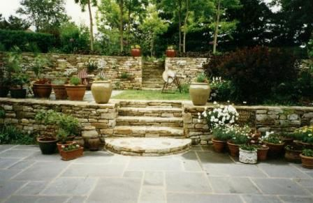 Garden Ideas On Two Levels 17 best images about backyard on pinterest | gardens, fire pits