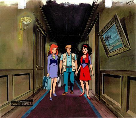 Scooby Doo on Zombie Island 1985 Animation Production Cel from Hanna Barbera 1998 763