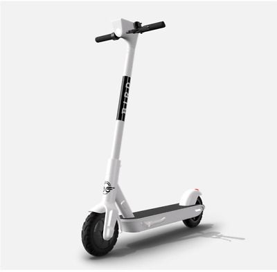 Advertisement Ebay Bird One Scooter White Model 591b W P New In Box 30 Mile 12 Hr Charge In 2020 Scooter Folding Electric Scooter Electric Scooter Bikes