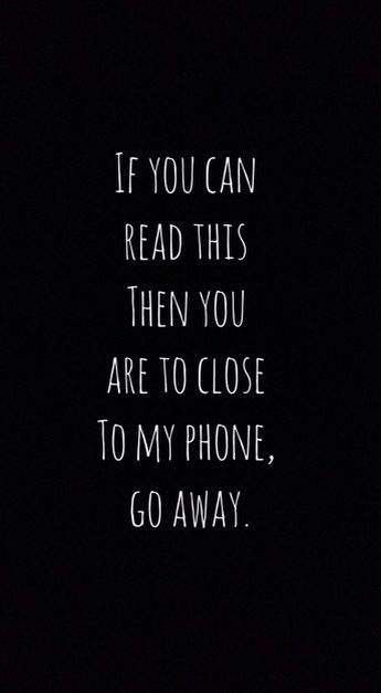 Bunu Okuyabilirsen Telefonuma Yaklasabilirsin Phone Wallpaper Funny Phone Wallpaper Dont Touch My Phone Wallpapers Funny Iphone Wallpaper