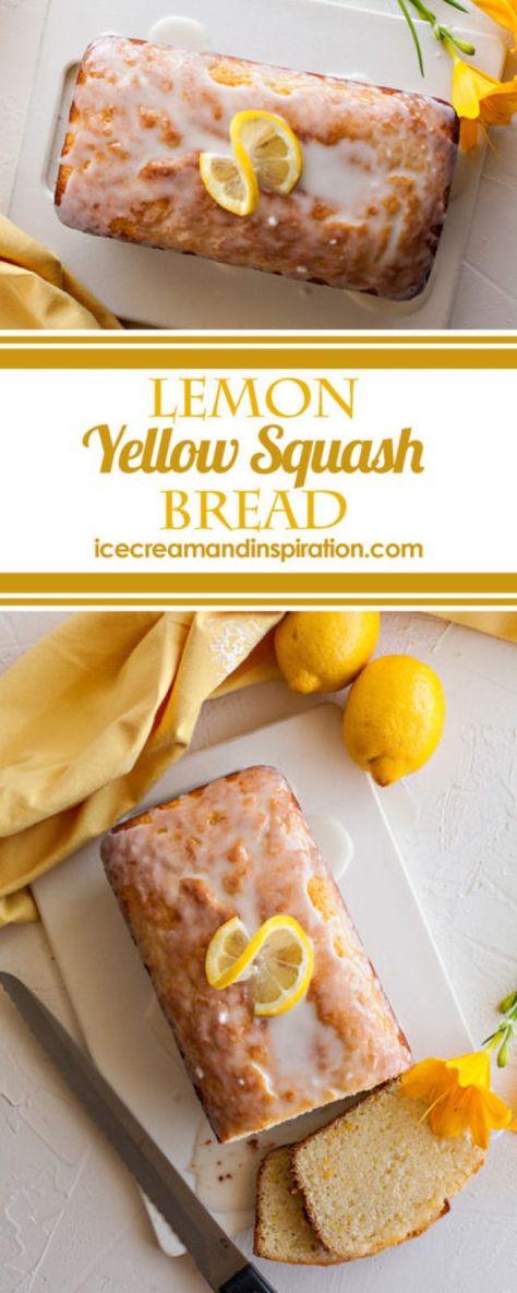 Lemon Yellow Squash Bread - Beautiful Life and Home