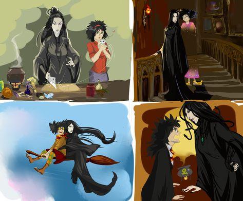 Fem Snarry 4 By Ananovik On Deviantart Fem Harry Potter Harry Potter Fan Art Harry Potter Anime