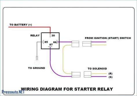 bosch 4 pin relay wiring diagram for doorbell symbols car rh pinterest fr