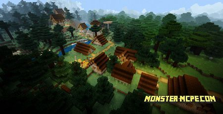 Download Minecraft 1 16 0 For Android Minecraft Bedrock 1 16 0 1 In 2020 Swamp Outpost Village