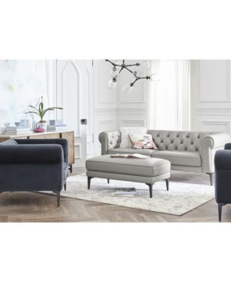 Remina Leather and Fabric Sofa Collection | macys.com | House ...