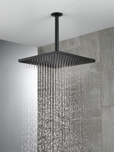 52159 Bl25 In 2020 Rain Shower Head Ceiling Mounted Shower Head Ceiling Shower Head