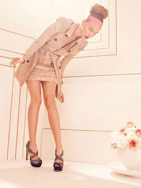 nude color outfit