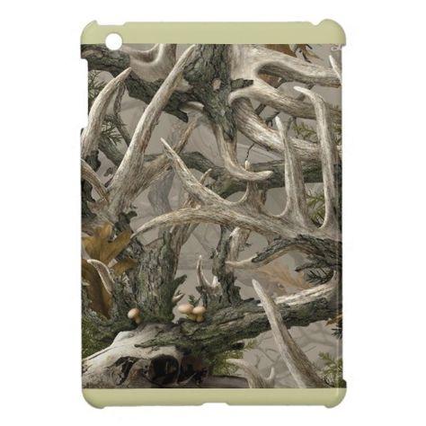 Shop Backwoods deer skull camo cover for the iPad mini created by camerashyphotos.