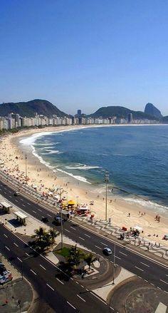 Copacabana Rio De Janeiro Brazil Travel Adventure Vacation