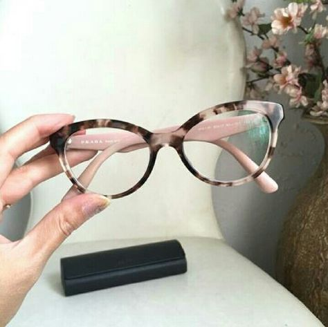 0d3d39bb8494 Shop Women s Prada Pink size 52-17 Glasses at a discounted price at Poshmark.  Description  Prada 11rv glasses frames size 52 eye  I have an extensive ...
