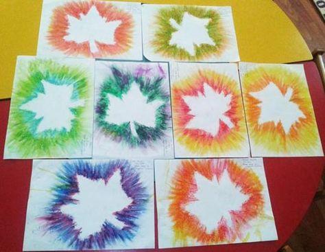 Sonbahar Etkinligi Pastel Boyalar Sanat Ve Sanat Etkinlikleri