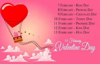 Valentine Week Days Complete Valentine Week List 2019 In 2020