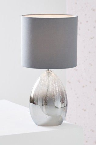 Buy Isla Ombre Table Lamp From The Next Uk Online Shop Grey Table Lamps Bedside Table Lamps Side Table Lamps