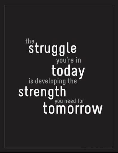 Lovely The Struggle Youu0027re In Today Is Dveloping The Strength You Need Tomorrow. Inspirational  Quotes| Motivational Quotes For Fitness| Fitness| Being Fitu2026