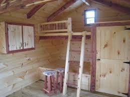 Image Result For 10 X 16 Tiny House Plans Built In Bunks Loft Railing Cabin Floor
