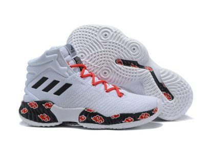 adidas Pro Bounce 2018 WhiteRed Black Basketball Shoes
