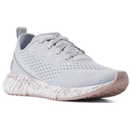 Reebok Shoes Women's Flashfilm in GreyRoseWht Size 5.5