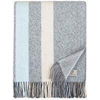 Linen Cotton Flauschige Warme Decke Wolldecke Merino Wohndecke