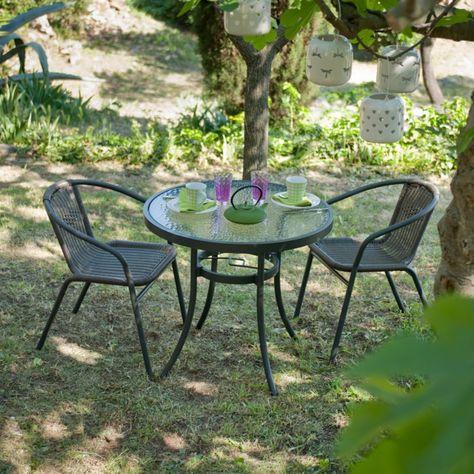 Terrassenmöbel polyrattan hell  Pinterest'teki 25'den fazla en iyi Gartentisch mit stühlen fikri ...