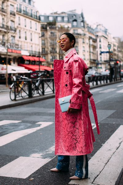 Coming Up Roses - Flawless Street Style Snaps From Paris Fashion Week, Fall 2018 - Photos