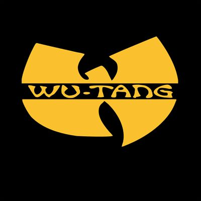8 Inch Yellow Wu Tang Clan Wu Car Window Laptop Tumbler Vinyl