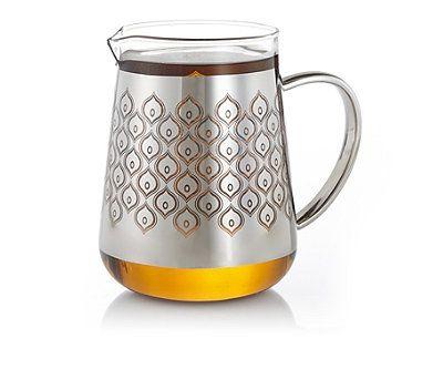 Patterned Chai Glass Pitcher, $24.95 at teavana.com.