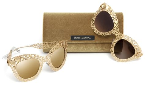 Dolce&Gabbana Sunglasses from Fall Winter 2014 Collection