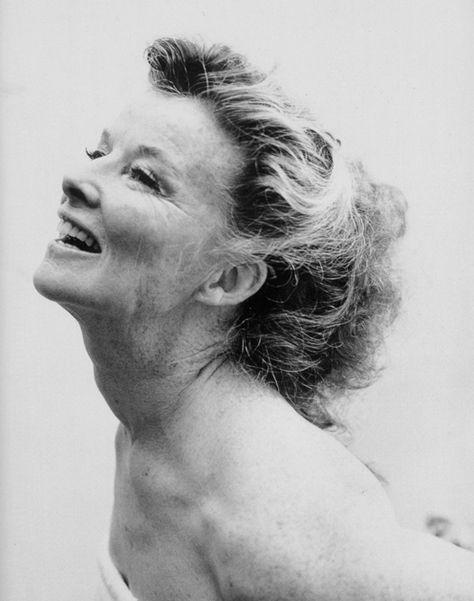 Katherine Hepburn -- aging gracefully