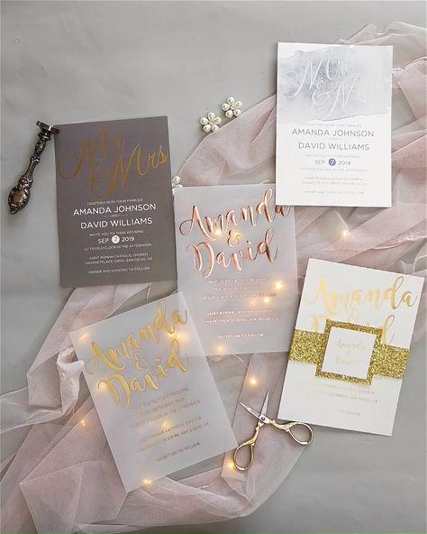 gold foil #wedding #weddinginvitations #stylishwedd #stylishweddinvitations