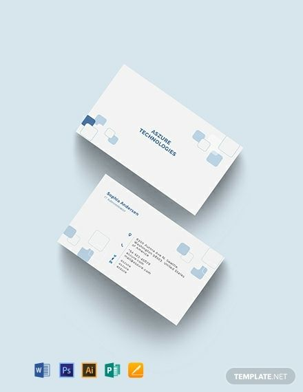 It Company Business Card Template Word Psd Apple Pages Google Docs Illustrator Publisher Company Business Cards Business Card Template Word Business Card Design