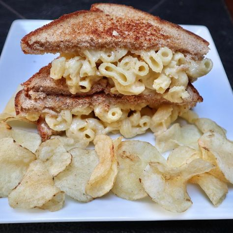 grilled Grilled Mac & Cheese Sandwich...