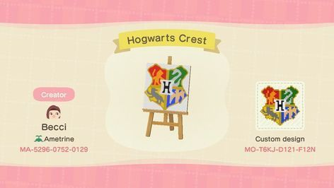 Hi I M Looking For Harry Potter Or Other Magical Acnh Custom Designs New Animal Crossing Animal Crossing Memes Animal Crossing
