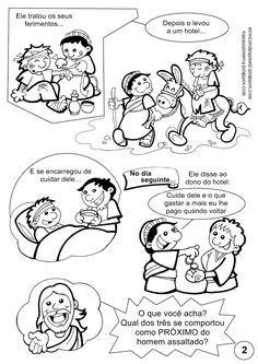 Parabola Do Bom Samaritano Lucas 10 30 35 Com Imagens