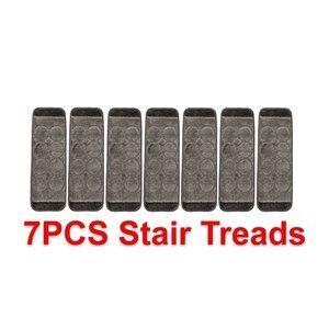Kato Rubber Gripper Gray Stair Tread Stair Treads Gray Stairs | Wayfair Carpet Stair Treads | Tucker Murphy | Carpet Runners | Oaks Godinez | Stair Railing | Beige Carpet